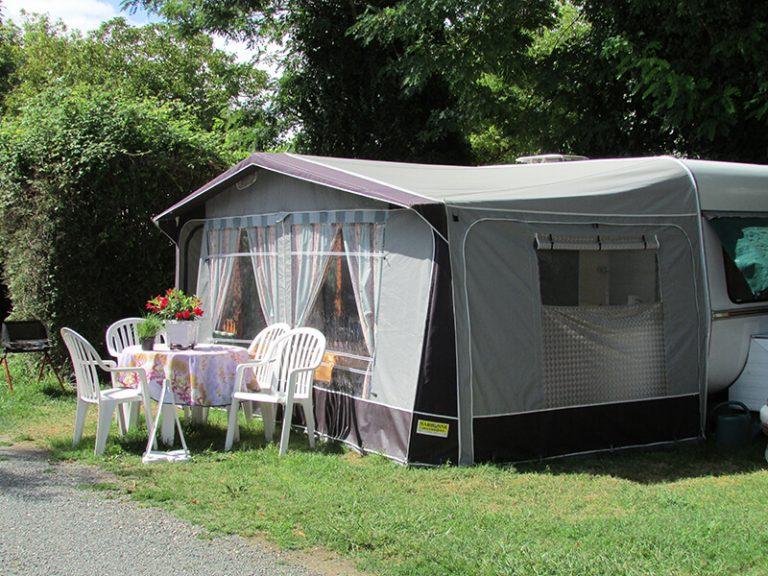 Caravanes - Camping L'Orée des Bois à Royan