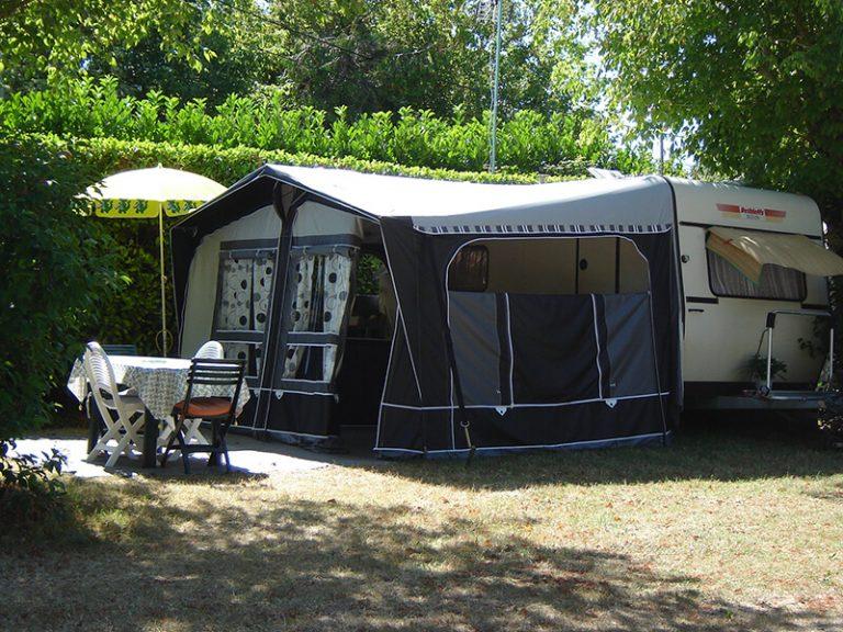 Caravane - Camping L'Orée des Bois à Royan
