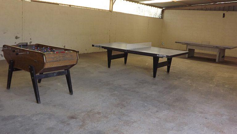 Salle de jeux - Camping L'Orée des Bois à Royan