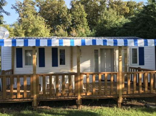 Mobil-home - Bermudes - Camping l'Orée des bois à Royan