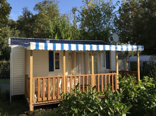 Mobil-home - Ibiza 24 - Camping l'Orée des bois à Royan