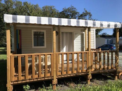 Mobil-home - Primo Solo n°31F - Camping l'Orée des bois à Royan